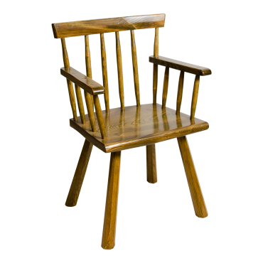 Rustic Low Back Chair