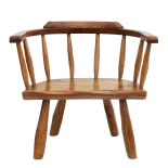 Child's Hewn Chair