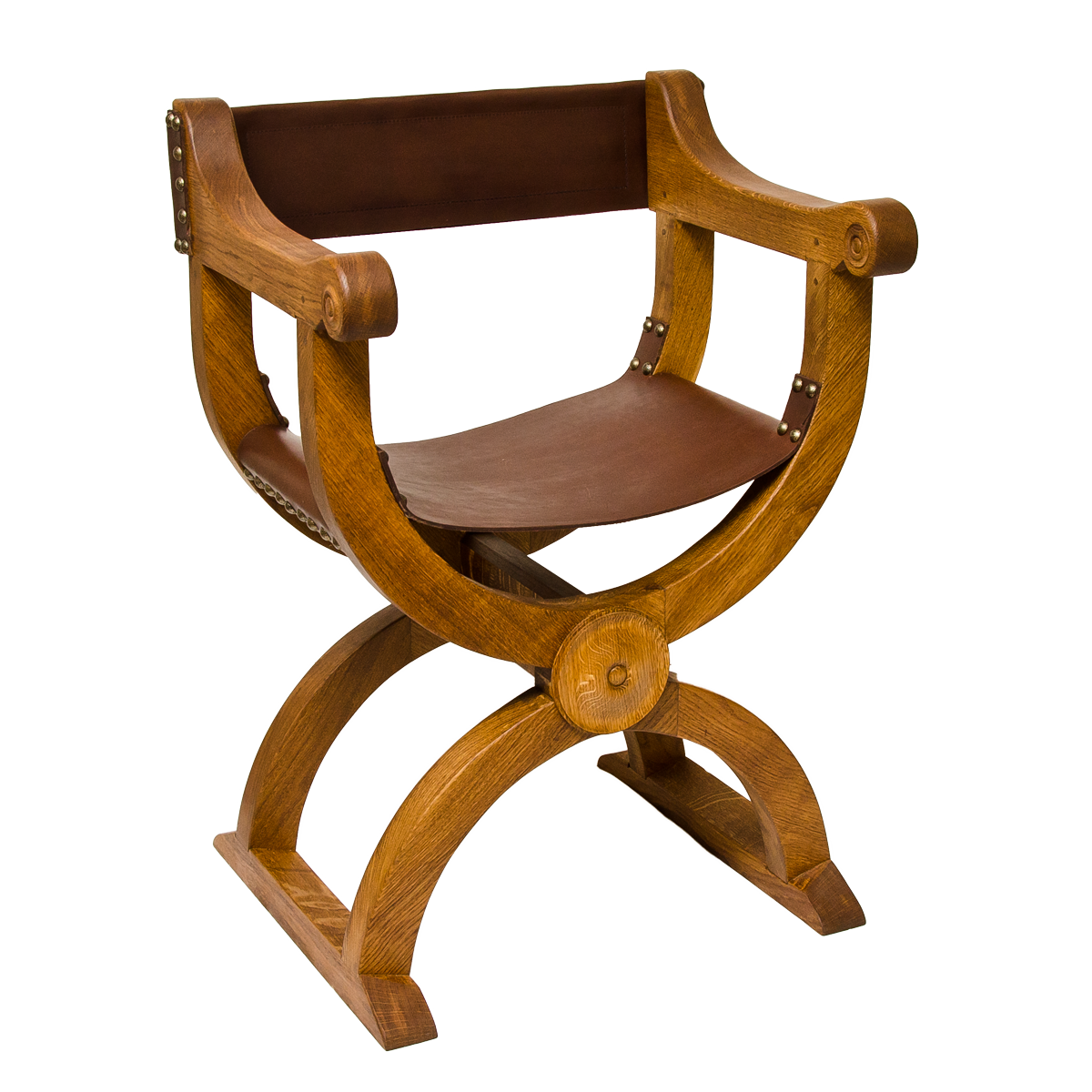 traditional handmade oak and leather curule chair rh traditionalhandmadechairs co uk curule chair uk curule chair designer